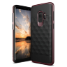 Чехол Caseology Parallax series для Galaxy S9 Black / Burgundy
