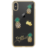 Чехол Kingxbar Tropical Series для iPhone Xs Max Pineapple