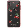Чехол Kingxbar Tropical Series для iPhone Xs Max Strawberry