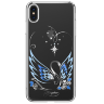 Чехол Kingxbar Swan Series для iPhone Xs Max Silver Frame