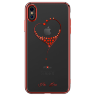 Чехол Kingxbar Wish Series для iPhone Xs Max Red Frame