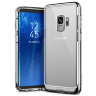 Чехол Caseology Skyfall Series для Galaxy S9 Silver Metallic
